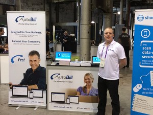 AutoBill at the MYOB Roadshow 2014 in Sydney